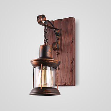 Lightinthebox Rustic / Lodge / Vintage / Country Wall Lamps & Sconces Indoor Metal Wall Light 220V / 110V 60W