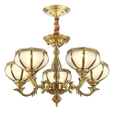 ZHISHU Lampy widzące Światło rozproszone - Styl MIni, Wiejski Tradycyjny / Classic, 110-120V 220-240V Nie zawiera żarówki