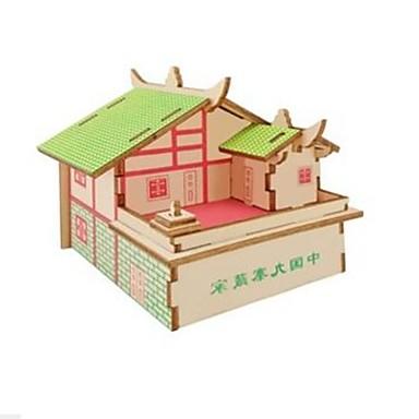voordelige 3D-puzzels-3D-puzzels Legpuzzel Modelbouwsets Huizen Mode Huis Kinderen Nieuw Design Hot Sale 1 pcs Klassiek Modern eigentijds Modieus Kinderen Jongens Meisjes Speeltjes Geschenk