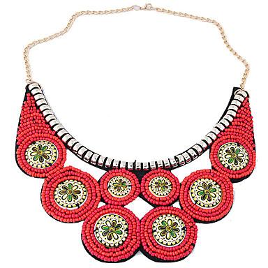 Damskie Circle Shape Kształt Artystyczny Modny Etnické Kołnierz Żywica Stop Kołnierz Impreza Codzienny Biżuteria kostiumowa