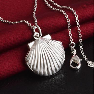 Damskie Naszyjniki choker - Posrebrzany Apple Modny Silver Naszyjniki Na Codzienny