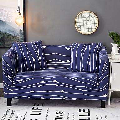 Współczesny Poliester Pokrowiec na sofę, Łatwa instalacja Kwiaty Drukowane slipcovers
