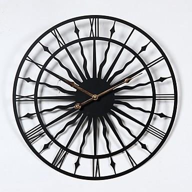 Sport Schule / Abschluss Freunde Bohemian Theme Weinlese-Thema Wanduhr,Kreisförmig Drinnen Uhr