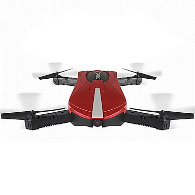 RC Drone JY JY018W Red 4CH 6 Eixos 2.4G Com Câmera HD Quadcópero com CR FPV Luzes LED Retorno Com 1 Botão Auto-Decolagem Modo Espelho
