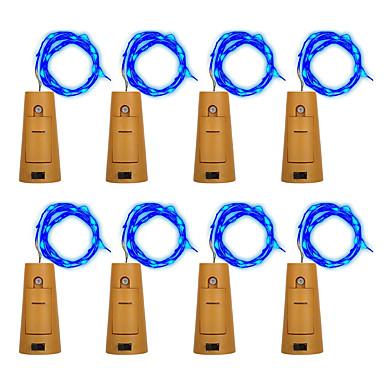 BRELONG® Łańsuchy świetlne 10 Diody LED Ciepła biel Biały Fioletowy Zielony Niebieski Wodoodporne <5V