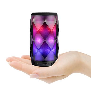 Crystal Cans A1 Głośnik Bluetooth Bluetooth 4.0 3,5 mm AUX Głośnik zewnętrzny Black