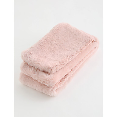 Szaliki - Damskie - Zima - Bawełna Black Blushing Pink