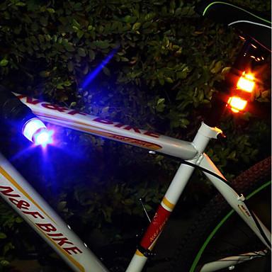 Fahrradrücklicht / Sicherheitsleuchten / Rückleuchten Radsport Wasserfest, Tragbar, Professionell Knopf-Batterie Camping / Wandern / Erkundungen / Für den täglichen Einsatz / Radsport