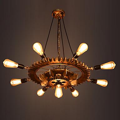 Lampy widzące Downlight - 3D, Retro / Vintage, 110-120V 220-240V Nie zawiera żarówki