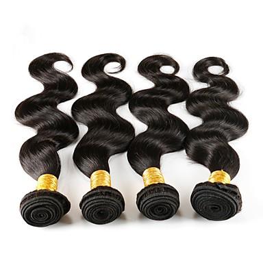 Włosy brazylijskie Włosy remy Body wave Ludzkie włosy wyplata 4szt Człowieka splotów włosów