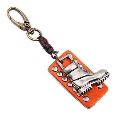 Łańcuszek do kluczy Biżuteria Orange Nieregularny Skórzany Stop Klasyczny Modny Wyjściowe Ulica Męskie