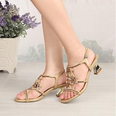 Similicuir Sandales Chaussures à Bottes 06356239 Violet Mode Paillette la Cristal Or Brillante Femme Printemps ouvert Strass Bout Eté 85Swy5qd