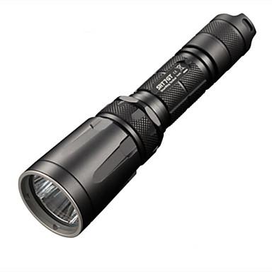 billige Lommelykter & campinglykter-Nitecore SRT7GT LED Lommelygter 1000 lm LED - 1 emittere 8.0 lys tilstand Vannavvisende Vanntett Bærbar Camping / Vandring / Grotte Udforskning Politi / Militær Jakt