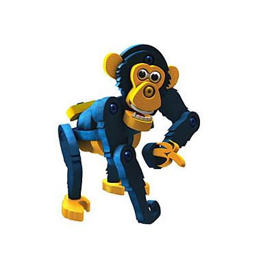 Klocki Małpa DIY Dla dzieci Zabawki Prezent
