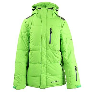 Ambizioso Per Uomo Giacca Da Sci Ompermeabile Leggero Antivento Sci Cotone Polyster Piumini Abbigliamento Da Neve - Inverno #06359726