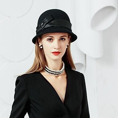 Wolle / Seide Hüte mit 1 Besondere Anlässe / Party / Abend Kopfschmuck