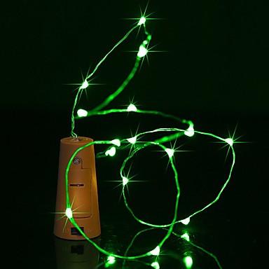 BRELONG® 0,9 m Łańsuchy świetlne 8 Diody LED Ciepła biel / Biały / Niebieski Wodoodporne <5 V 1szt