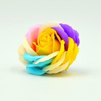 5 Gałąź Poliester Roses Bukiety na stół Sztuczne Kwiaty