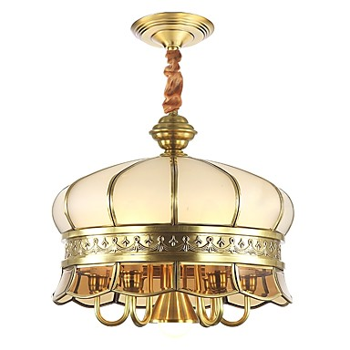 ZHISHU 4-światło Lampy widzące Światło rozproszone - Styl MIni, 110-120V / 220-240V Nie zawiera żarówki / 15/10 ㎡