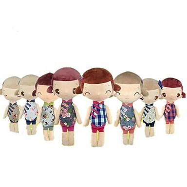 Pluszowa lalka Moda 47cm Słodki Dla dzieci Miękki Bezpieczne dla dziecka Słodkie Ślub Motyw kreskówkowy Non Toxic Dekoracyjna Retro /