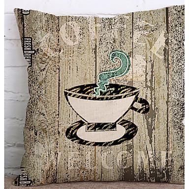 Café mit Bettwäsche aus Baumwolle Leinen Bettwäsche Sets Flanell