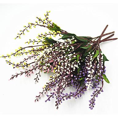 Sztuczne Kwiaty 2 Gałąź minimalistyczny styl / Pasterski Styl Rośliny Bukiety na stół / Nie wliczone