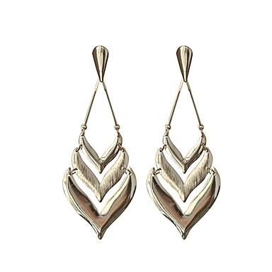 Damen Tropfen-Ohrringe - Einfach, Süß Gold Für Alltag / Festtage