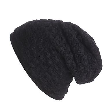 Narty Skull Caps Dla obu płci Ciepły / Lyžařské brýle / Narciarstwo Deska snowboardowa Sweter Jendolity kolor Narciarstwo / Ćwiczenia na zewnątrz / Snowboard Zima