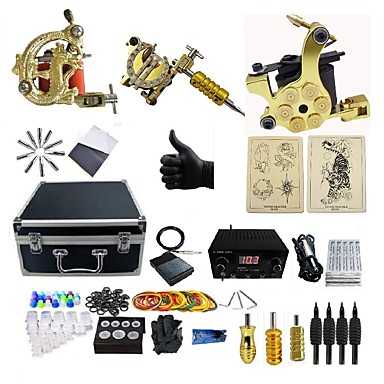 basekey tattoo machine professionele tattoo set 3 pcs tattoeagemachines 3 x legering tatoeage. Black Bedroom Furniture Sets. Home Design Ideas
