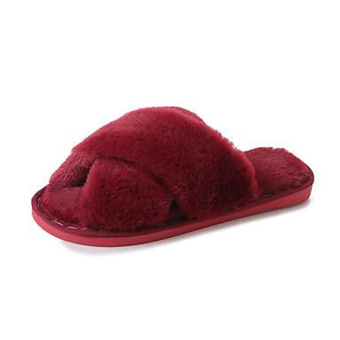 Naiset Kengät Kumi Kesä Comfort Sandaalit Kävely Creepers Käyttötarkoitus Musta Harmaa Punainen