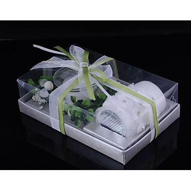 Motyw Garden / Kwiatowy Motyw / Butterfly Theme Świeca Favors - 1pcs Wosk 1 zestaw / torba z folii PE