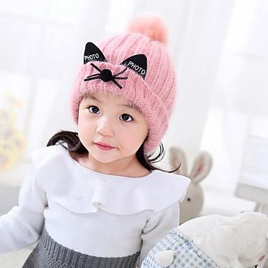Kapelusze i czapki - Dla dziewczynek - Zima - Sweter Blushing Pink Beige
