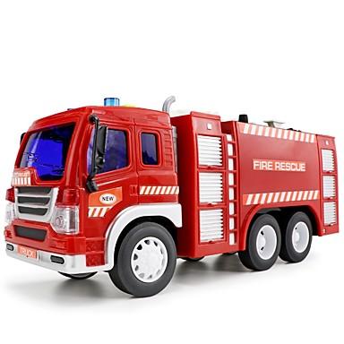 Spielzeug-Autos LED - Beleuchtung Musikspielzeug Fahrzeug Spielzeuge Feuerwehrauto Spielzeuge Feuerwehr Autos Musik Menschen Fahrzeuge