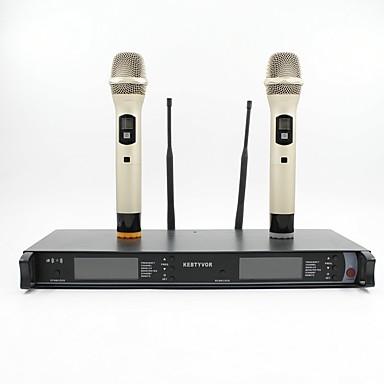 KEBTYVOR TK-800 Przewodowy / a Bezprzewodowy / a Mikrofon zestawy Mikrofon dynamiczny Mikrofon ręczny Na Mikrofon do karaoke