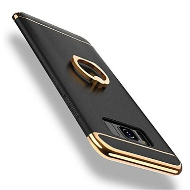 Kılıf Na Samsung Galaxy S8 Plus / S8 Odporny na wstrząsy / Powłoka / Uchwyt pierścieniowy Osłona tylna Solidne kolory Twardość PC na S8 Plus / S8