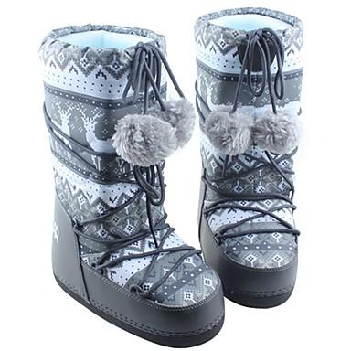 Damskie Śniegowce Buty zimowe Materiał Narciarstwo Sporty zimowe Anti-Slip Zdatny do noszenia Oddychalność zatrzymywania ciepła Anti-shock