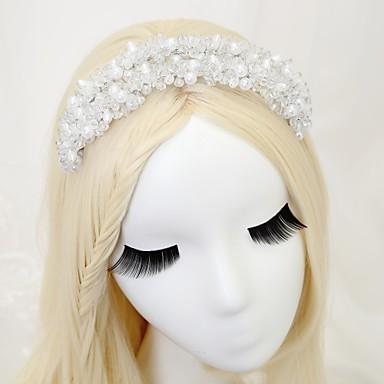 Kryształ Imitacja pereł Opaski na głowę 1szt Ślub Specjalne okazje Winieta