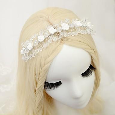 Kryształ Opaski na głowę 1szt Ślub Specjalne okazje Winieta