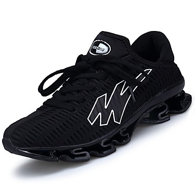 Men's Rubber Spring / Fall Comfort Athletic Shoes Running Shoes Black / Green / Blue