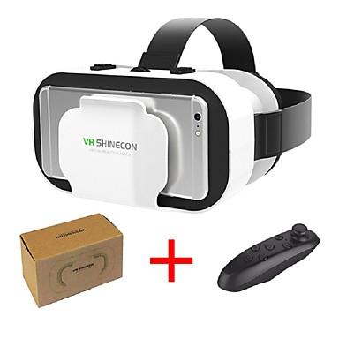 tanie Okulary VR-vr shinecon 5.0 okulary wirtualna rzeczywistość okulary 3d dla 4,7 - 6,0 cali telefon z kontrolerem