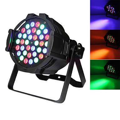 U'King Oświetlenie LED sceniczne Żarówki LED Par DMX 512 Master-Slave Aktywowana Dźwiękiem Auto na Klub Ślub Scena Impreza