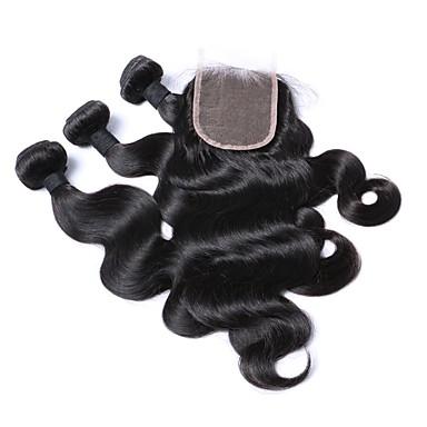 Włosy brazylijskie Body wave Włosy naturalne Człowieka splotów włosów Ludzkie włosy wyplata Ludzkich włosów rozszerzeniach Damskie