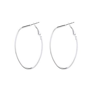 ราคาถูก ตุ้มหู-สำหรับผู้หญิง Drop Earrings ต่างหูแบบห่วง มีดแมเชเท สุภาพสตรี ง่าย แฟชั่น ต่างหู เครื่องประดับ สีทอง / สีเงิน สำหรับ Street ไปเที่ยว