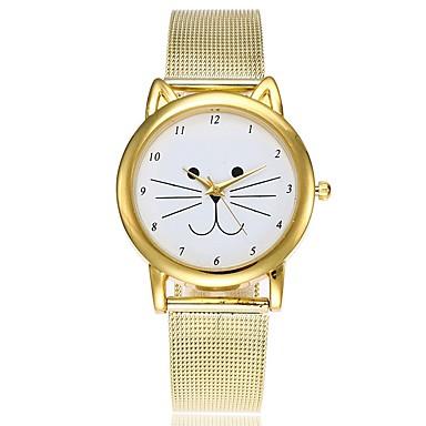 1b2d4f555c1 Mulheres Relógio Casual Relógio de Moda Único Criativo relógio Quartzo  Dourada Impermeável Cronógrafo Relógio Casual Analógico Casual Natal -  Dourado Um ano ...