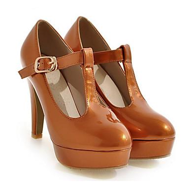 povoljno Ženske cipele-Žene Cipele na petu Stiletto potpetica Krakova Toe Kopča PU Udobne cipele / Inovativne cipele Proljeće / Ljeto žuta / Zelen / Pink / Vjenčanje / Zabava i večer / Zabava i večer