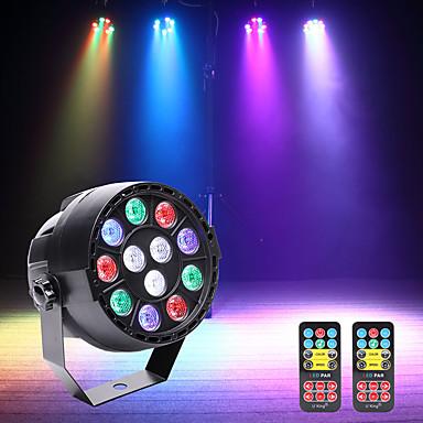 U'King Oświetlenie LED sceniczne Żarówki LED Par DMX 512 Master-Slave Aktywowana Dźwiękiem Auto 15 na Klub Ślub Scena Impreza