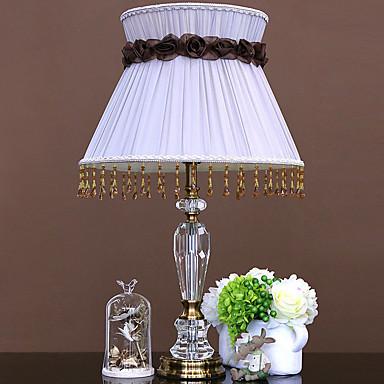 Prosty Ochrona oczu Lampa stołowa Na Szkła 220V White