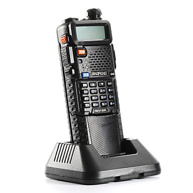 tanie Krótkofalówki-BAOFENG Ręczne / Analogowy Alarm awaryjny / Wskaźnik Poziomu Baterii / Programowany za pomocą programu na PC 3KM-5KM 3KM-5KM 128 5 W Krótkofalówka Dwudrożne Radio