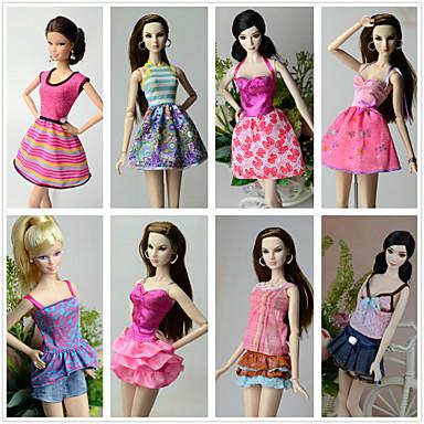 Princeza Kostimi Za Barbie lutka Poliester Suknje Top Haljina Hlače Za Djevojka je Doll igračkama