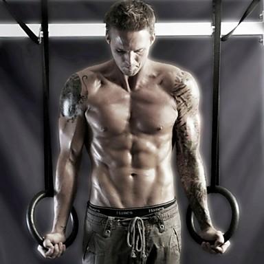 KYLINSPORT Gymnastics Rings / Optrekstangen Training&Fitness / Gym Muovi 23cm